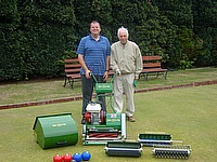 Dennis mower is at the heart of the community