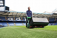 Assistant Head Groundsman at Chelsea FC, Kevin Fowler, has chosen Dennis as a key supplier for pedestrian machines at the Stamford Bridge Stadium