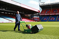 Dennis G860 helping to keep the Selhurst Pitch in premiership condition