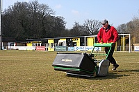 Dennis G34D hard at work at East Grinstead Town FC