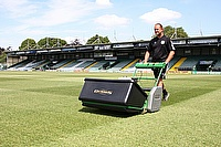G860 combats heavy usage at Huish Park.