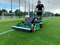Dennis PRO 34 exceeds standard for rotary mowers