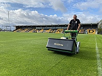 Dennis G860 signals exciting times at Boston United FC.