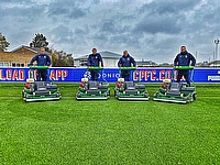 Crystal Palace FC puts their trust in the Dennis PRO 34R rotary mower