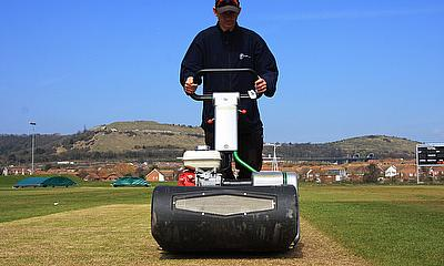 The Dennis Razor Ultra was chosen as Bryen's cricket mower