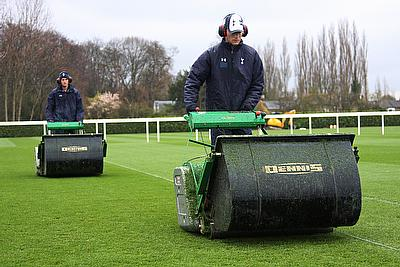 Tottenham Hotspur FC grounds manager Darren Baldwin has chosen the Dennis Premier mower for the club's new training ground