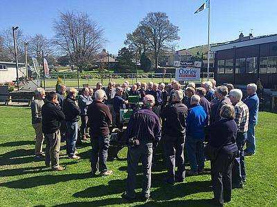 Educational bowling green maintenance seminars