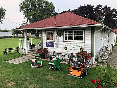 Dennis Mowers at Cobourg Lawn Bowling Club