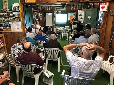 Dennis Mowers & Bannerman Ltd bowls maintenance seminar