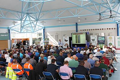 A captive audience at the Dennis and SISIS groundcare seminar