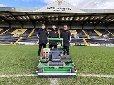 Dennis PRO 34R magnificent at Meadow Lane