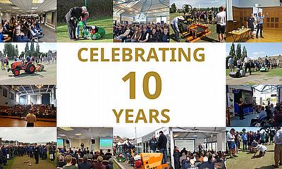 Celebrating 10 years of groundcare seminars with Dennis and SISIS