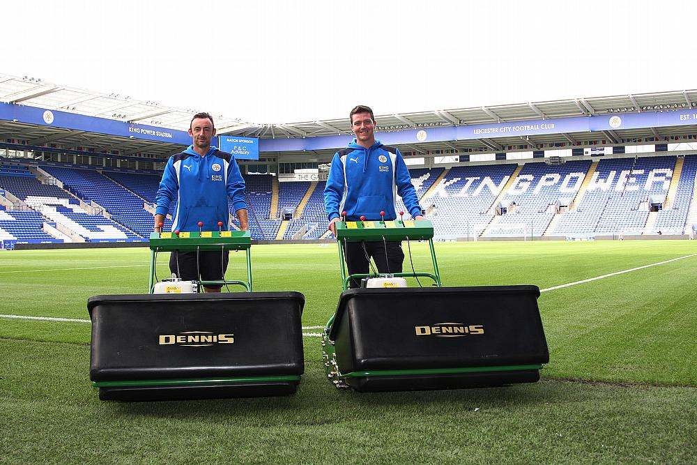 Dennis Mowers helps Leicester City Earn their stripes